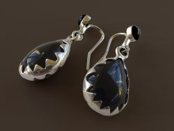 Black-Jet Earrings